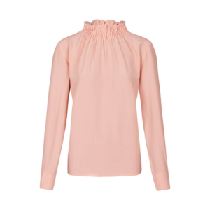 Business Look: rose Bluse