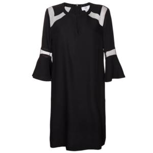 Feierliche Look: schwarzes Kleid
